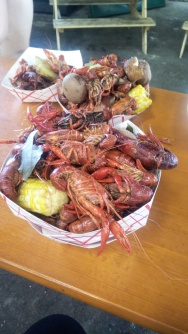 Thursday crawfish boil at Urban South