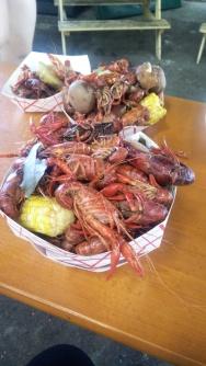 Thursday crawfish boil at Urban South