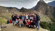 Our group at Machu Picchu